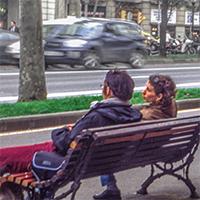Banc public, Paris