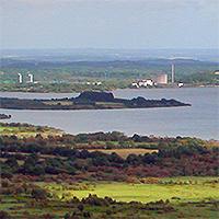 Le lac de Guerlédan (Côtes-d'Armor et Morbihan)