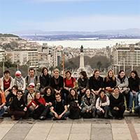 Lisbonne, voyage de M1, 2012