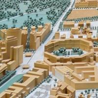 Berlin, maquette du centre-ville. Senatsverwaltung für Stadtentwicklung und Wohnen.