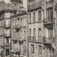 Brest, rue Jean-Jaurès, carte postale ancienne, v. 1935