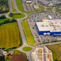 La zone commerciale du Froutven à Brest, inaugurée en 2009